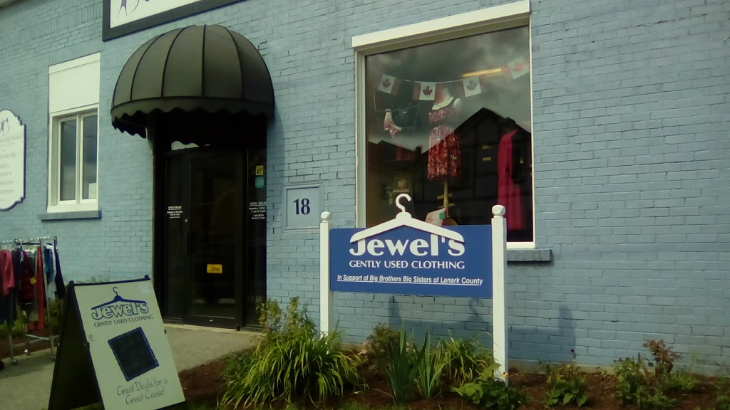 Jewels Gently Used Clothing   store   18 William St E, Smiths Falls, ON K7A 1C2, Canada   6132839723 OR +1 613-283-9723