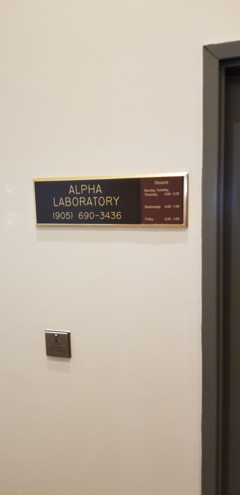 Alpha Laboratories Inc. | health | 95 Hamilton St N, Waterdown, ON L0R 2H0, Canada | 9056903436 OR +1 905-690-3436