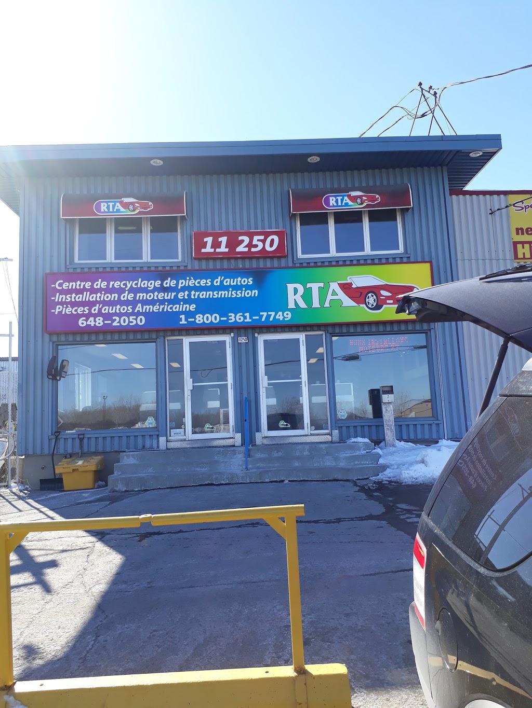 R.T.A. Pièces dauto usagées | car repair | 11250 Boulevard Saint-Jean-Baptiste, Montréal, QC H1B 4B4, Canada | 5146482050 OR +1 514-648-2050