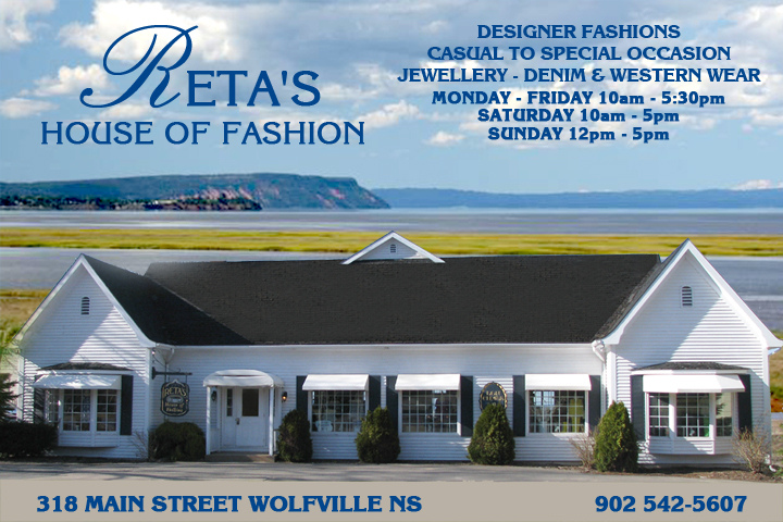 Retas House Of Fashion | clothing store | 318 Main St, Wolfville, NS B4P 1C4, Canada | 9025425607 OR +1 902-542-5607