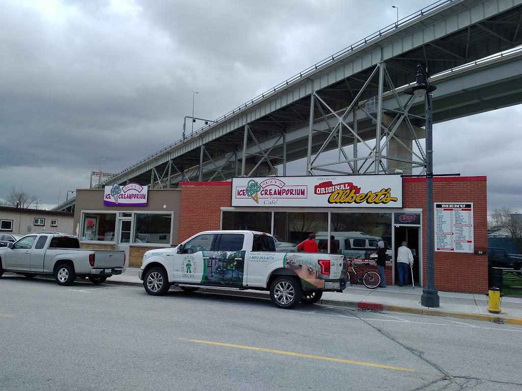 Suzys Ice Creamporium/ Original Alberts | restaurant | 99 Michigan Ave, Point Edward, ON N7V 1E5, Canada | 5193373535 OR +1 519-337-3535