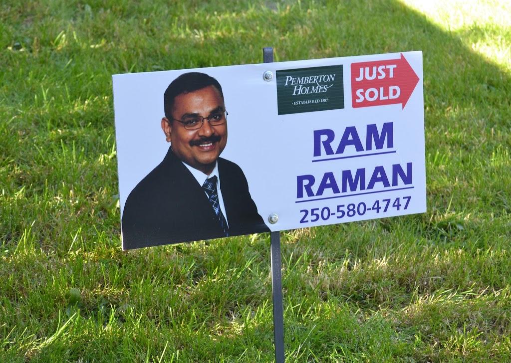 RAM RAMAN* PREC REALTOR | real estate agency | 150-805 Cloverdale Ave, Victoria, BC V8X 2S9, Canada | 2505804747 OR +1 250-580-4747