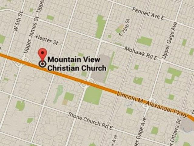 Mountain View Christian Church | church | 118 Limeridge Rd E, Hamilton, ON L9A 2S3, Canada | 9055751544 OR +1 905-575-1544