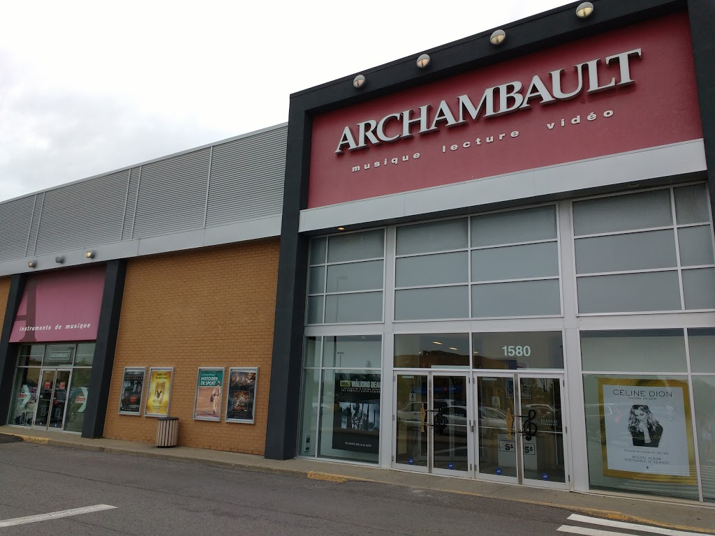 Archambault | book store | 1580 Boulevard Lebourgneuf, Québec, QC G2K 2M4, Canada | 4183808118 OR +1 418-380-8118