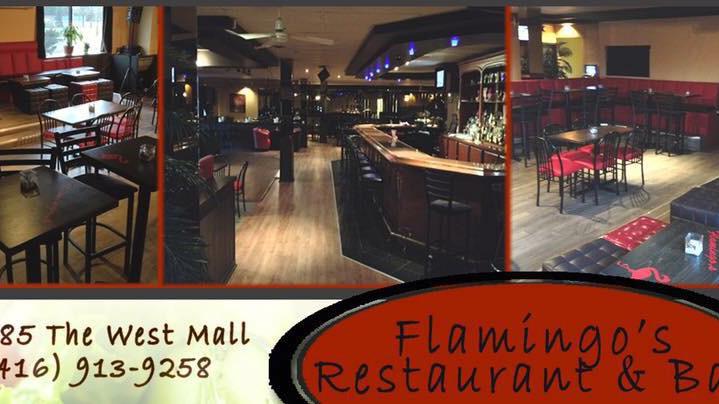 Flamingo S Restaurant Bar 385 The West Mall Etobicoke On M9c 1e7 Canada