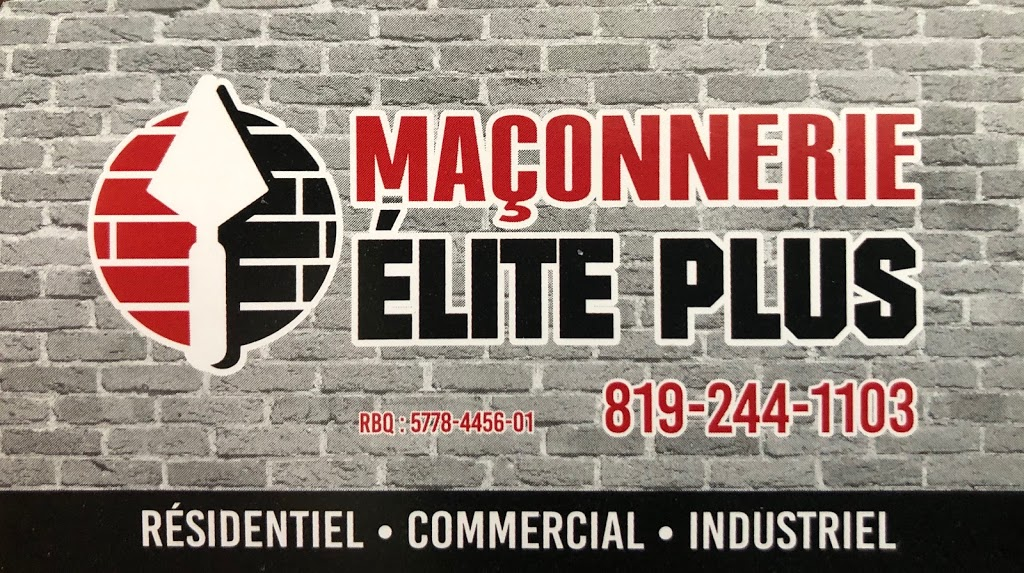 Maçonnerie Elite Plus | point of interest | 7050 Rue Amyot, Trois-Rivières, QC G9B 2G3, Canada | 8192441103 OR +1 819-244-1103