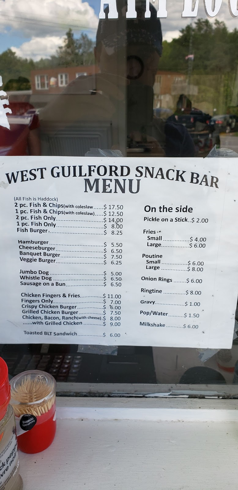 West Guilford Snack Bar   restaurant   1119 Kennisis Lake Rd, Eagle Lake, ON K0M 1M0, Canada   7059350373 OR +1 705-935-0373