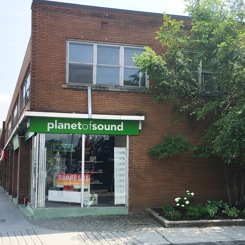 Planet of Sound | electronics store | 1194 Bank Street, Ottawa, ON K1S 3Y1, Canada | 6137314434 OR +1 613-731-4434