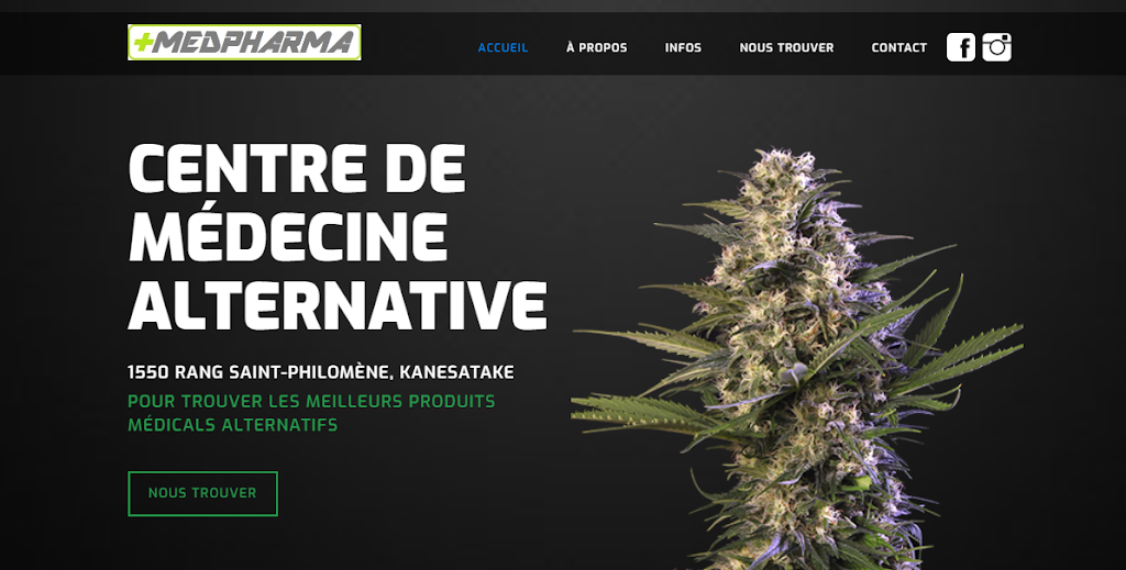 MedPharma Dispensary   store   1550 Rang Ste Philomène, Oka, QC J0N 1E0, Canada   4504791799 OR +1 450-479-1799