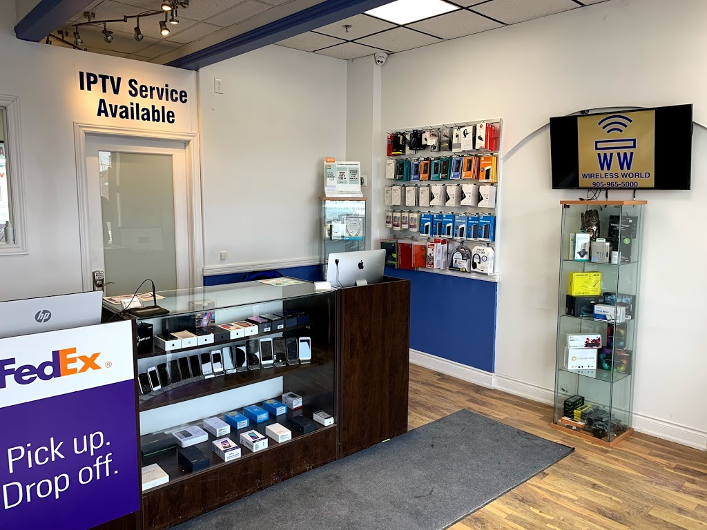 Wireless World | store | 107 Kennedy Rd S #4, Brampton, ON L6W 3G3, Canada | 9059655000 OR +1 905-965-5000