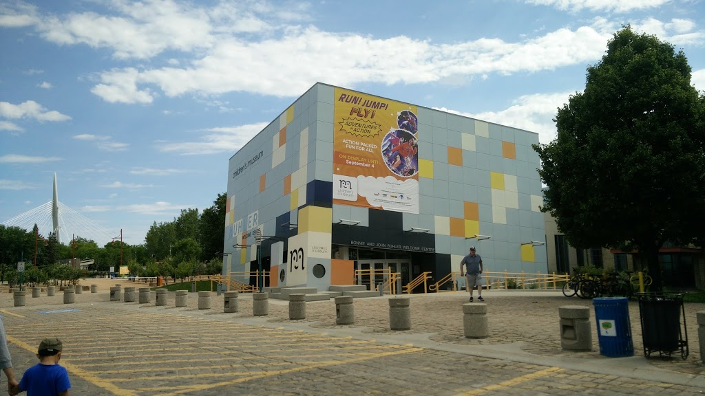 Childrens Museum | museum | 45 Forks Market Rd, Winnipeg, MB R3C 4T6, Canada | 2049244000 OR +1 204-924-4000