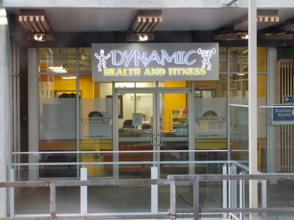 Dynamic Health and Fitness | gym | 800 Carnarvon St #335, New Westminster, BC V3M 0G3, Canada | 6045218746 OR +1 604-521-8746