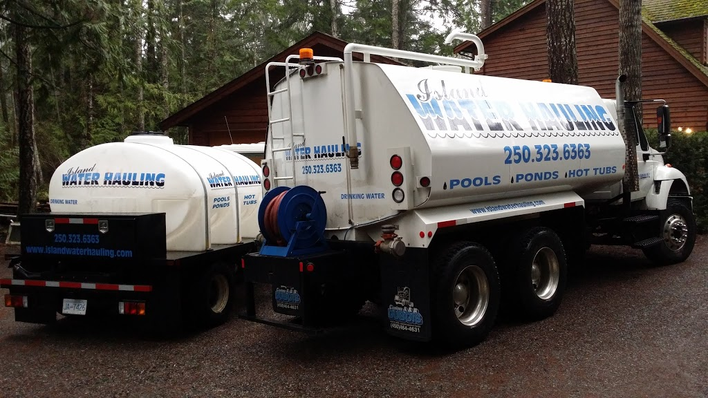Island Water (H2O) Hauling Incorporated | moving company | 1694 Cedar Rd #120, Nanaimo, BC V9X 1W1, Canada | 2503236363 OR +1 250-323-6363