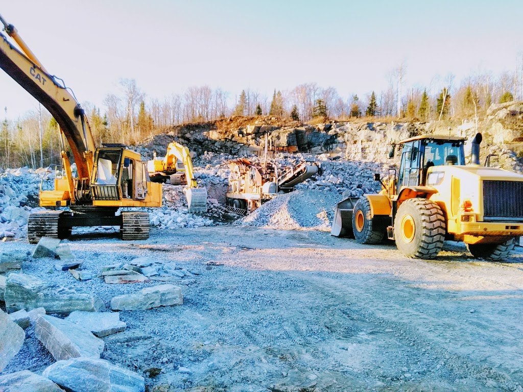 Cushman Stone & Gravel | point of interest | 166 Savage Settlement Rd, Perry, ON P0B, Canada | 7057897830 OR +1 705-789-7830