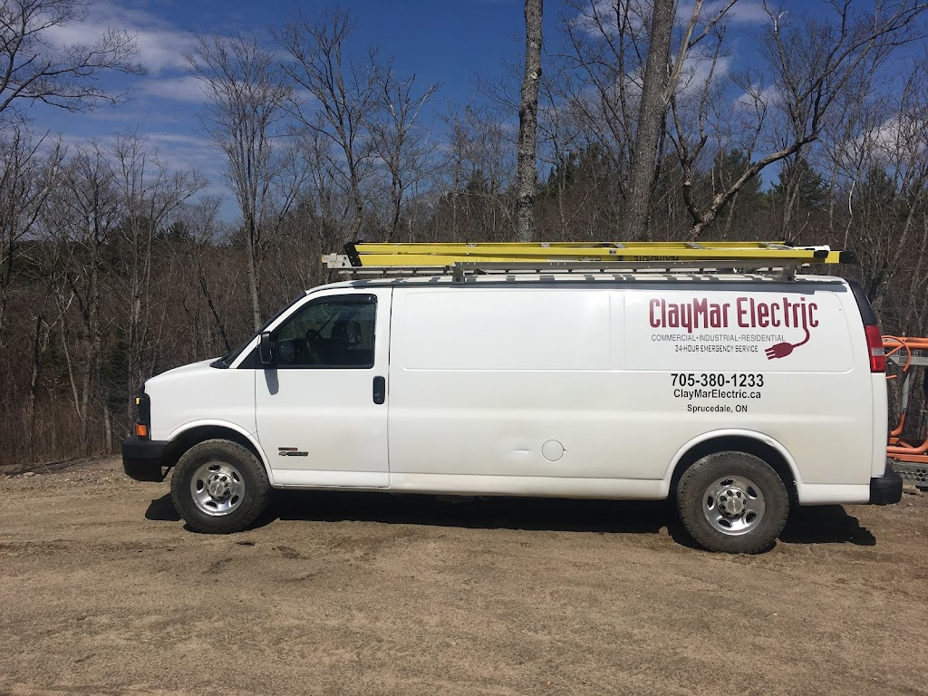 ClayMar Electric   electrician   197 Little Falls Rd, Sprucedale, ON P0A 1Y0, Canada   7053801233 OR +1 705-380-1233