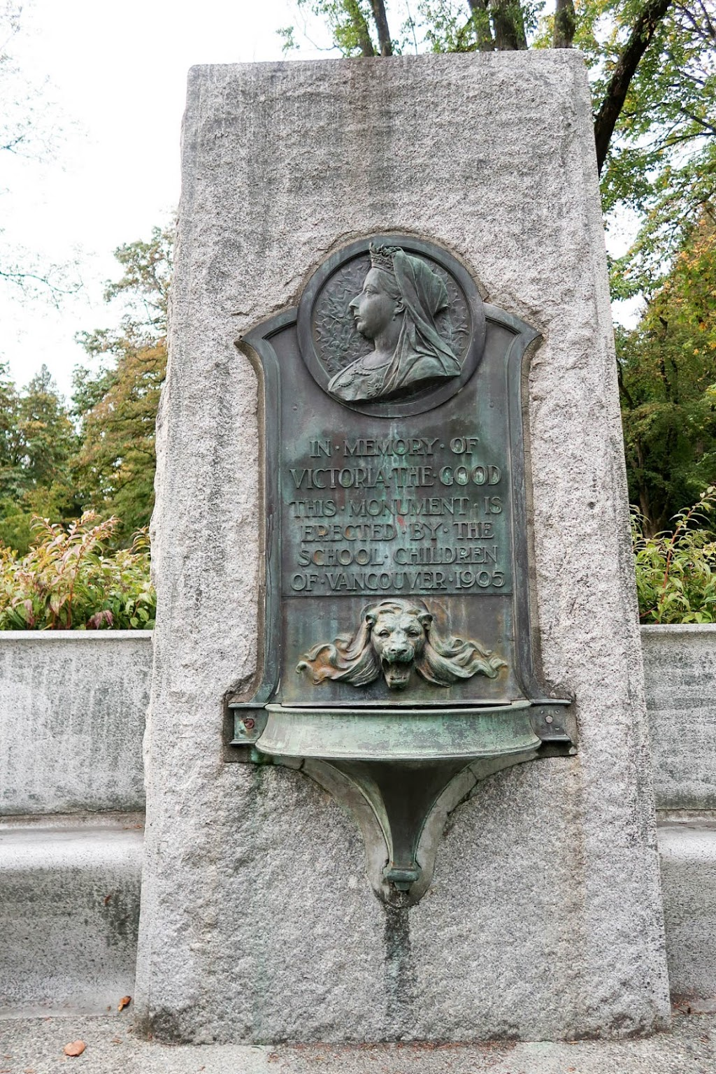 Queen Victoria Memorial Fountain | park | 900 Stanley Park Dr, Vancouver, BC V6G 3E2, Canada