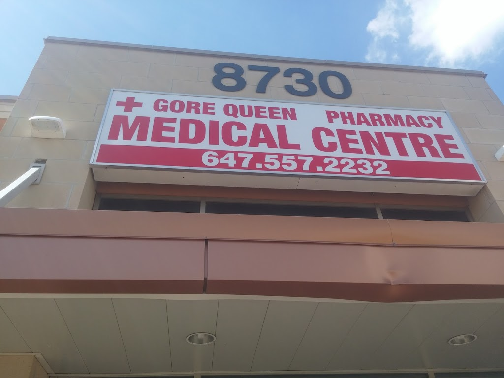 Gore Queen Medical Centre | health | 8730 The Gore Rd, Brampton, ON L6P 0B1, Canada | 6475572232 OR +1 647-557-2232