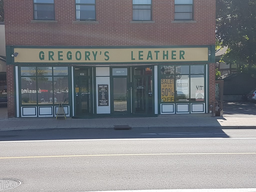 Gregorys Leather & Suede Fashions | store | 458 Rideau St, Ottawa, ON K1N 5Z4, Canada | 6137894734 OR +1 613-789-4734