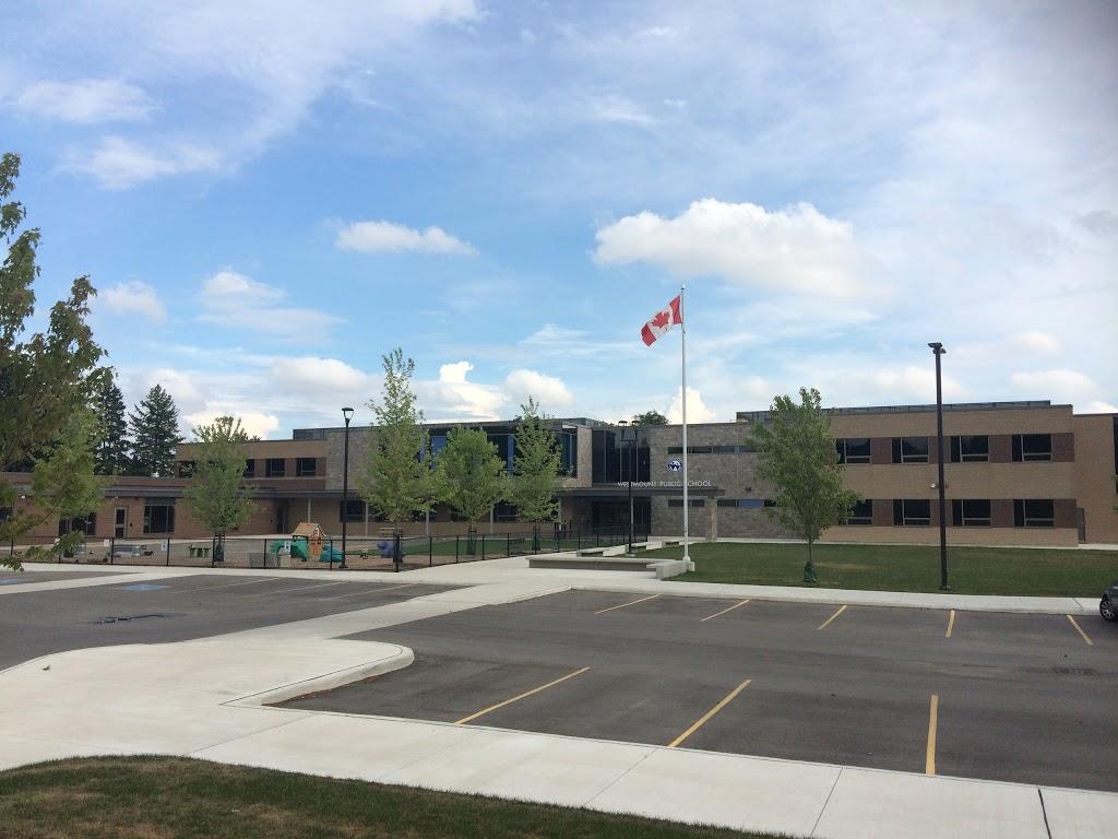 Westmount Public School | school | 329 Glasgow St, Kitchener, ON N2M 2M9, Canada | 5195785430 OR +1 519-578-5430