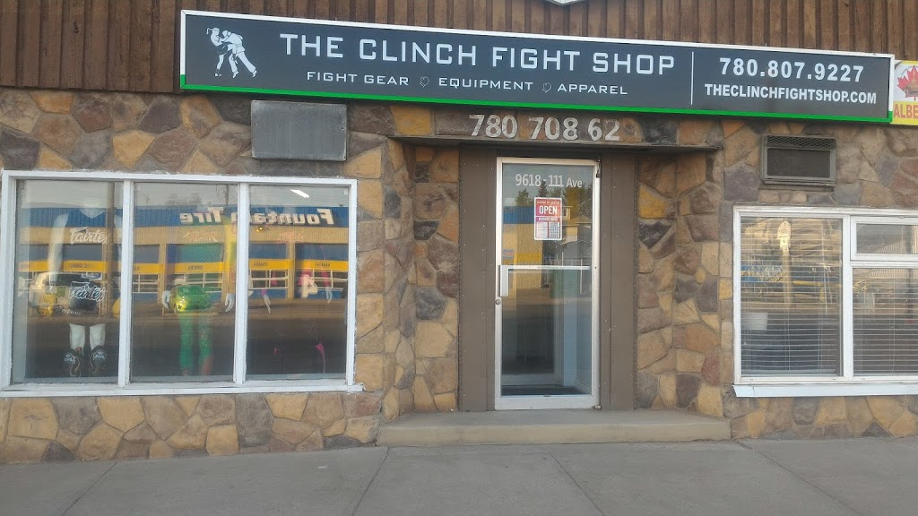 The Clinch Fight Shop | health | 9618 111 Ave NW, Edmonton, AB T5G 0A8, Canada | 7808079227 OR +1 780-807-9227