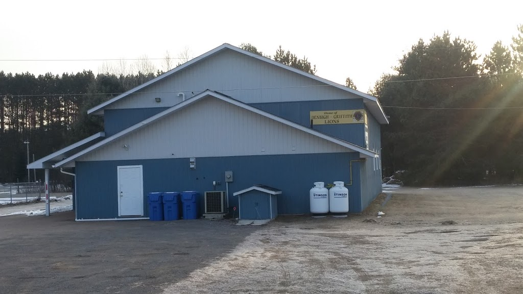 Griffith & Matawatchan Recreation Centre (Lions Club) | point of interest | 25991 Hwy 41, Griffith, ON K0J 2R0, Canada | 6133331423 OR +1 613-333-1423