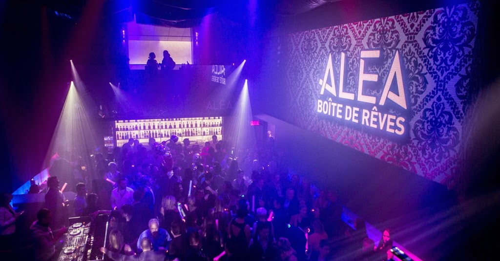 ALÉA | night club | 1 Boulevard du Casino, 2e étage/ 2nd floor, Gatineau, QC J8Y 6W3, Canada | 8197726299 OR +1 819-772-6299