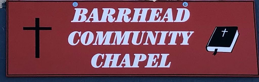 Barrhead Community Chapel | church | 5015 51 St, Barrhead, AB T7N 1A1, Canada | 7803057429 OR +1 780-305-7429