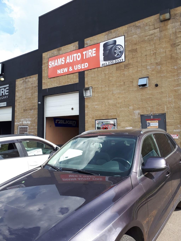 Shams Auto Tire | car repair | 113-3850 32 St NE, Calgary, AB T1Y 7L9, Canada | 4032300333 OR +1 403-230-0333