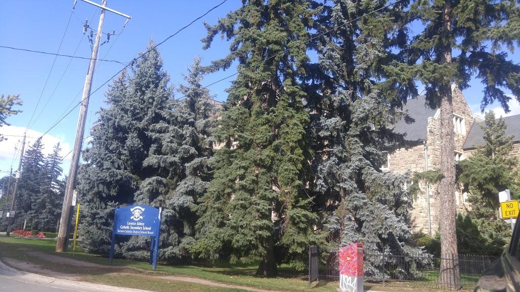 Loretto Abbey Catholic Secondary School   school   101 Mason Blvd, North York, ON M5M 3E2, Canada   4163935510 OR +1 416-393-5510