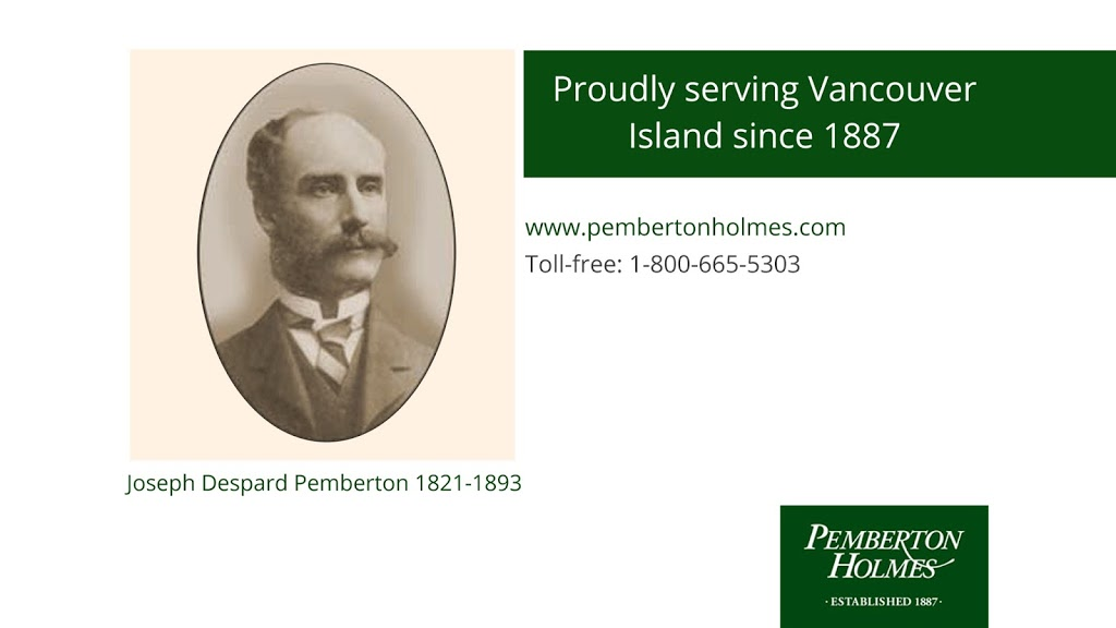 Pemberton Holmes Real Estate - Victoria | real estate agency | 805 Cloverdale Ave #150, Victoria, BC V8X 2S9, Canada | 2503848124 OR +1 250-384-8124