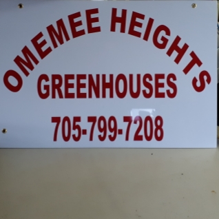 Omemee Heights Greenhouses | store | 99 Heights Rd, Omemee, ON K0L 2W0, Canada | 7057997208 OR +1 705-799-7208