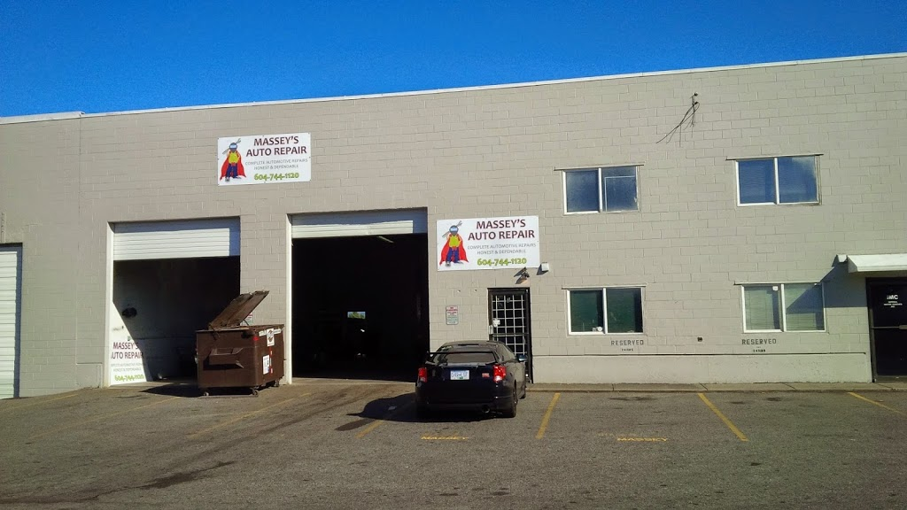Masseys Automotive Repairs | car repair | 1653 Salton Rd, Abbotsford, BC V2S 7P2, Canada | 6047441120 OR +1 604-744-1120
