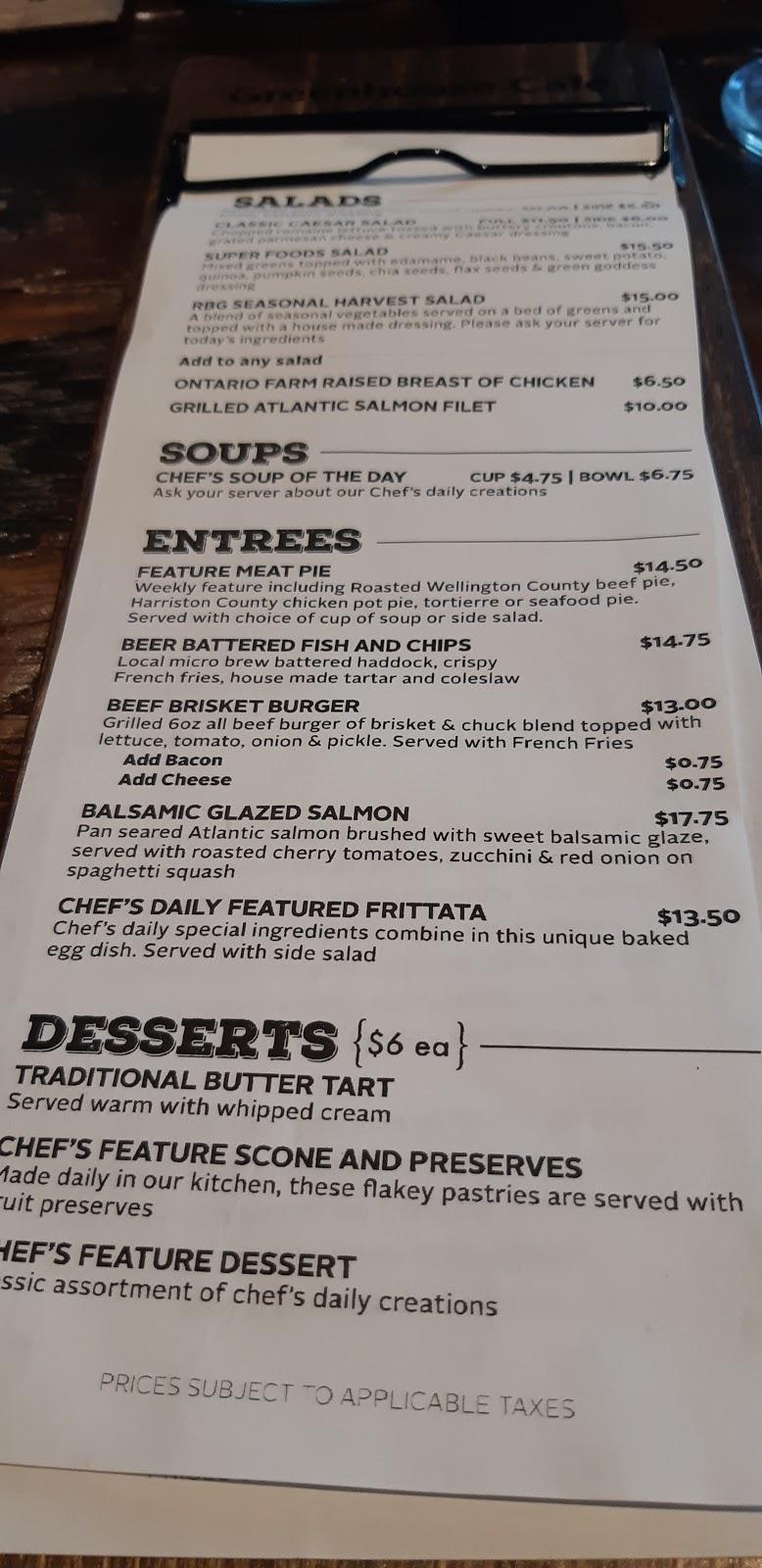 The Greenhouse Café   cafe   680 Plains Rd W, Burlington, ON L7T 4H4, Canada   9055271158 OR +1 905-527-1158