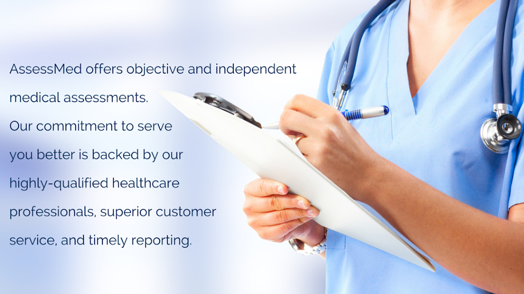 AssessMed | health | 151B York St, London, ON N6A 1A8, Canada | 5196793255 OR +1 519-679-3255