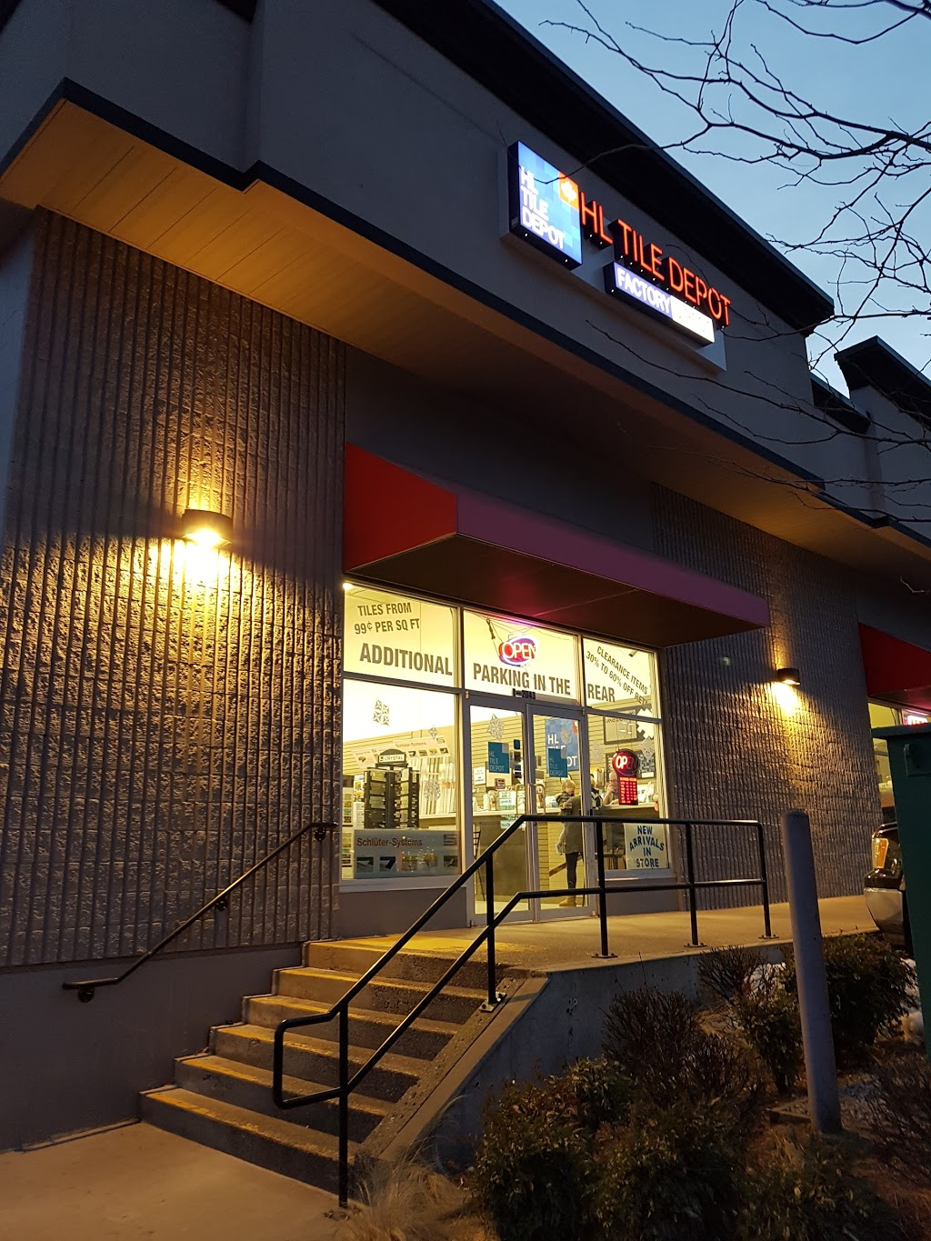 HL Tile Depot | home goods store | 2043 Abbotsford Way #1, Abbotsford, BC V2S 6X8, Canada | 6048700211 OR +1 604-870-0211