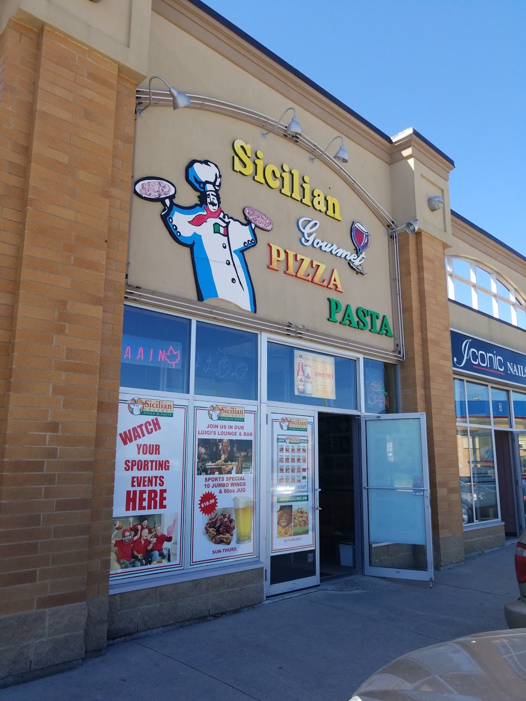 Sicilian Gourmet Pizza & Pasta | meal delivery | 225 Ferndale Dr S #4, Barrie, ON L4N 6B9, Canada | 7057349999 OR +1 705-734-9999
