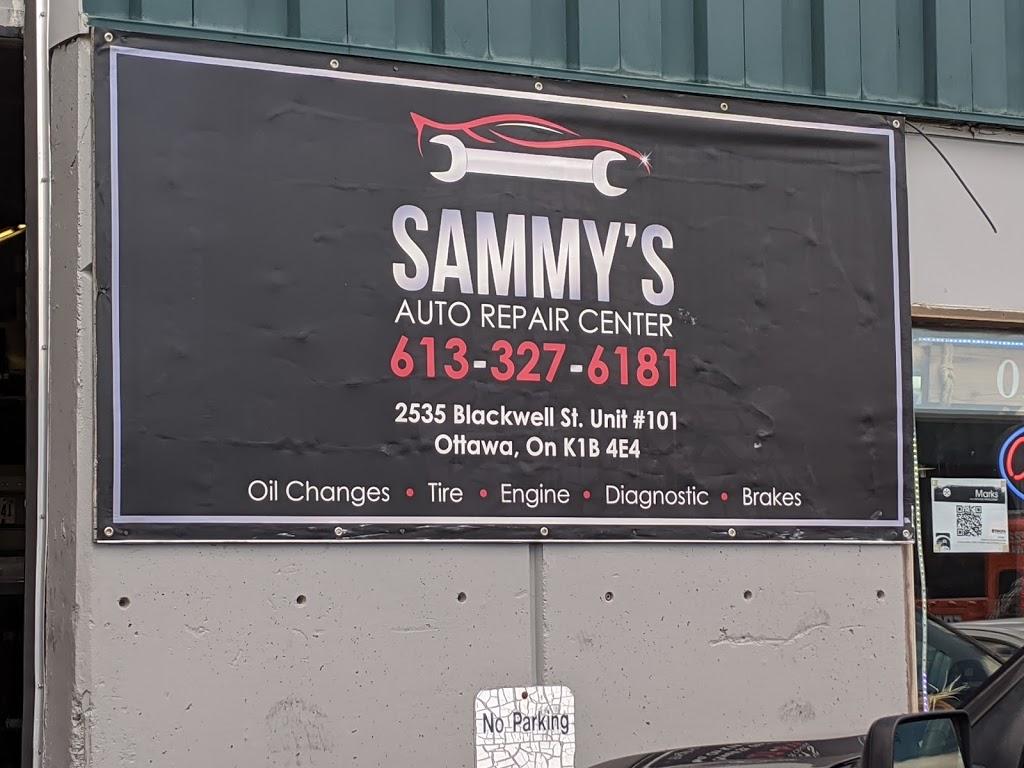 Sammys Auto Repair Center | car repair | 2535 Blackwell St Unit#101, Ottawa, ON K1B 4E4, Canada | 6133276181 OR +1 613-327-6181