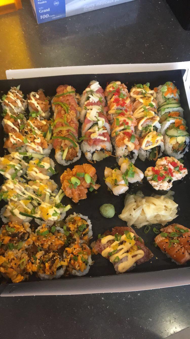 Yuzu sushi | meal takeaway | 9733 Boulevard Sainte-Anne, Sainte-Anne-de-Beaupré, QC G0A 3C0, Canada | 4187021999 OR +1 418-702-1999