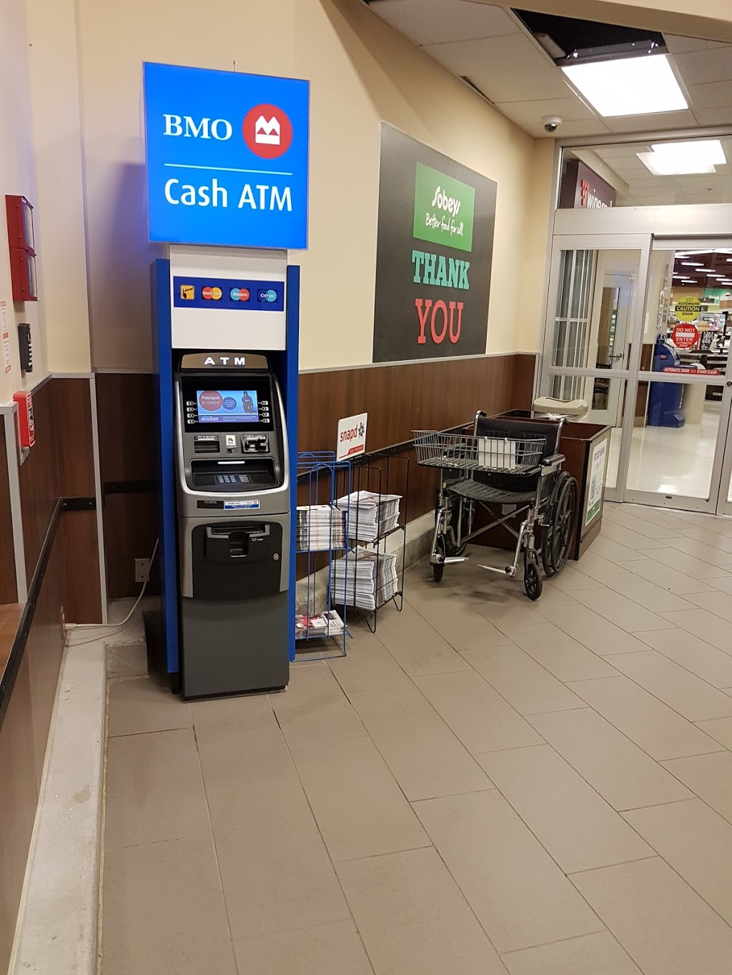 BMO Bank of Montreal ATM | atm | 640 Parkside Dr, Waterloo, ON N2L 5V4, Canada | 8003639992 OR +1 800-363-9992
