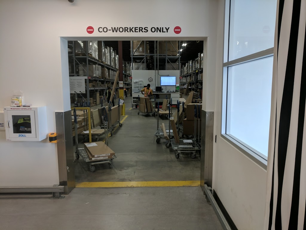 IKEA North York External Pick-Up Warehouse | furniture store | 455 Gordon Baker Rd, North York, ON M2H 4H2, Canada | 8668664532 OR +1 866-866-4532