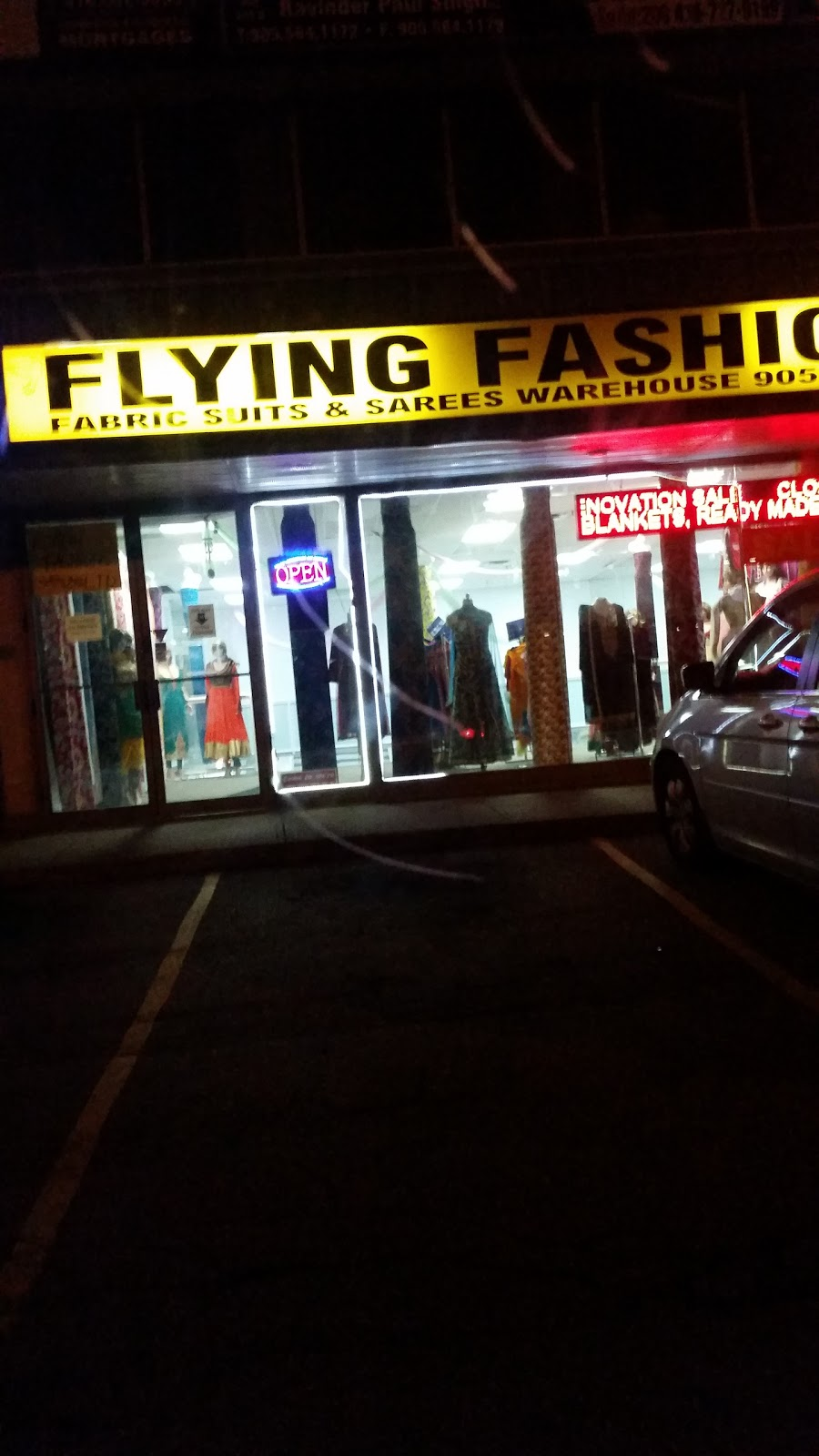Flying Fashions | clothing store | 7071 Airport Rd, Mississauga, ON L4T 4J3, Canada | 9056949797 OR +1 905-694-9797