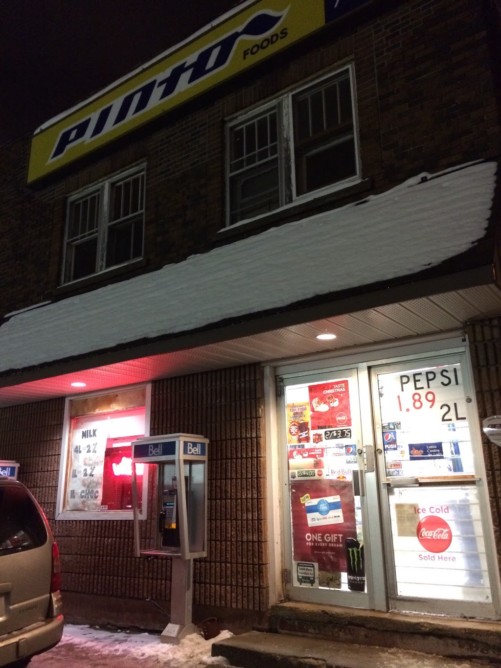 Spruce Street Pinto | convenience store | 59 Eyre St S, Sudbury, ON P3C 4A6, Canada | 7056757535 OR +1 705-675-7535