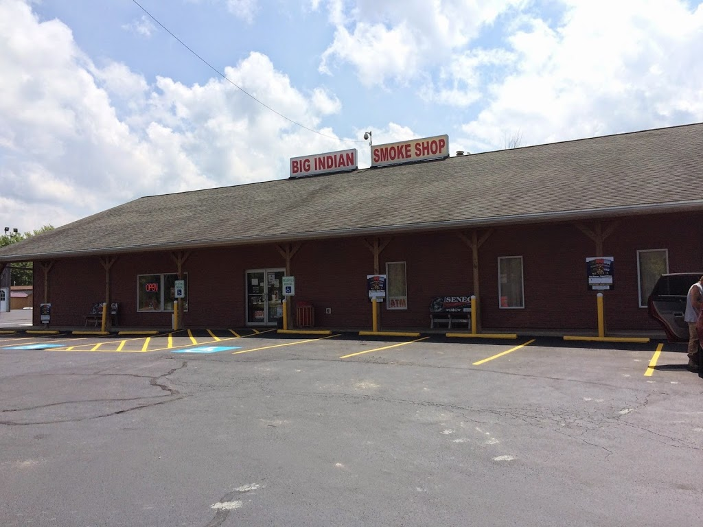 Big Indian Smoke Shop   convenience store   597 Milestrip Rd, Irving, NY 14081, USA   7169340370 OR +1 716-934-0370