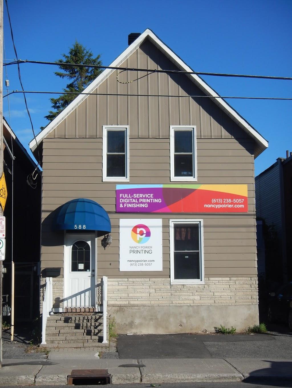 Nancy Poirier Printing | store | 588 Gladstone Ave, Ottawa, ON K1R 5P3, Canada | 6132385057 OR +1 613-238-5057