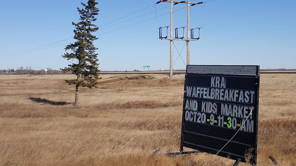 Kingman Community Hall   point of interest   1012 2 Ave, Kingman, AB T0B 2M0, Canada   7806722464 OR +1 780-672-2464
