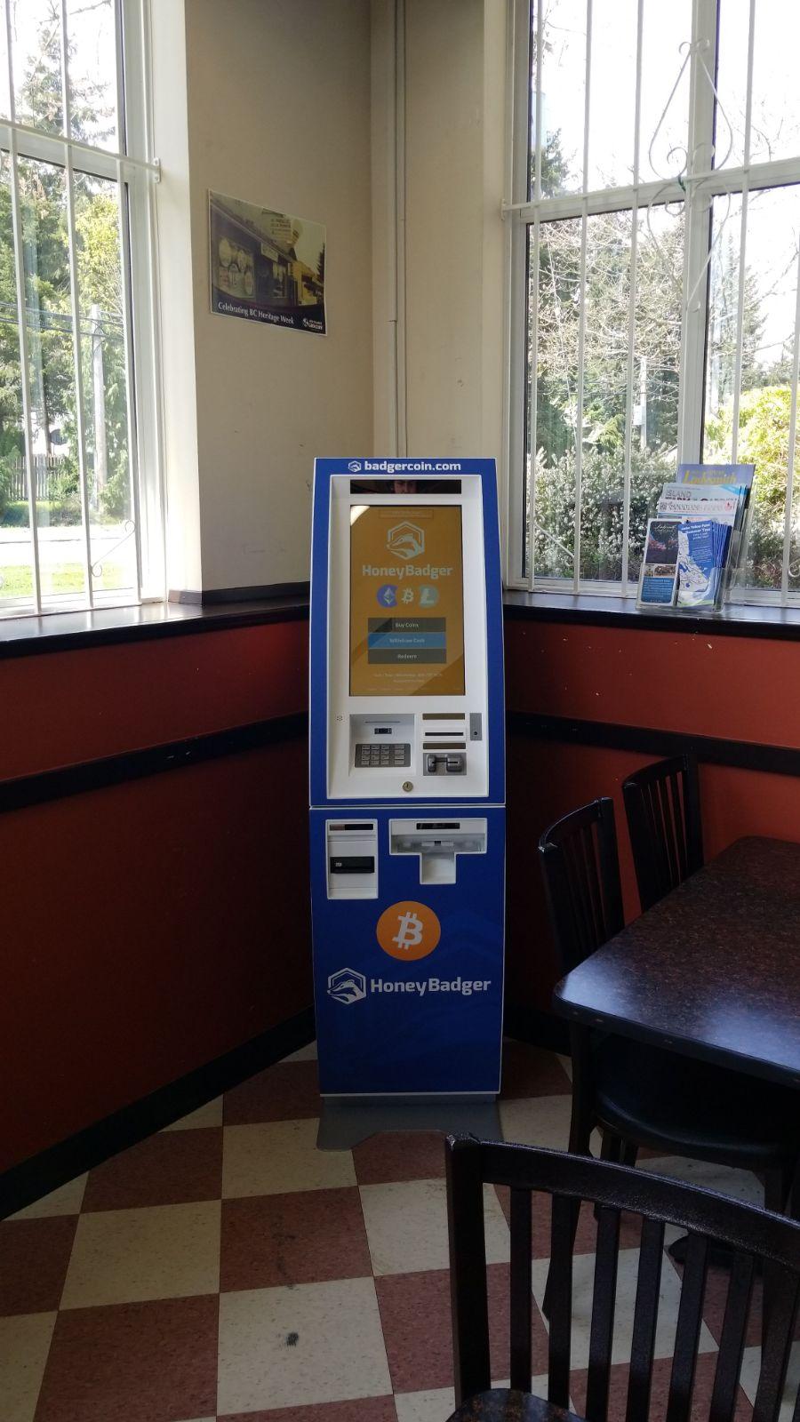 HoneyBadger Bitcoin ATM at 49th Parallel | atm | 1824 Cedar Rd #3C, Nanaimo, BC V9X 1H9, Canada | 6047871220 OR +1 604-787-1220