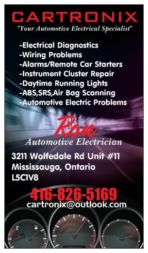 Cartronix | car repair | 3211 Wolfedale Rd Unit#11, Mississauga, ON L5C 1V8, Canada | 4168265169 OR +1 416-826-5169