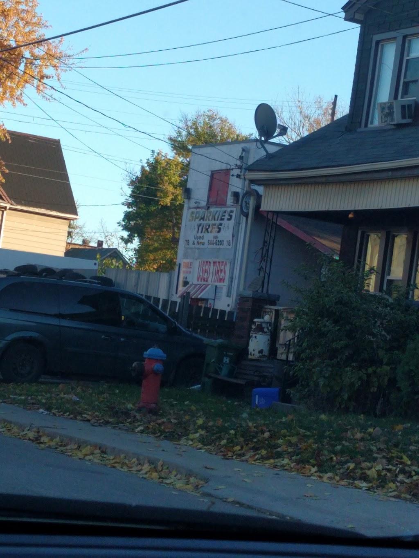Sparkies Tires | car repair | 78 Gertrude St, Hamilton, ON L8L 4C1, Canada | 9055446203 OR +1 905-544-6203