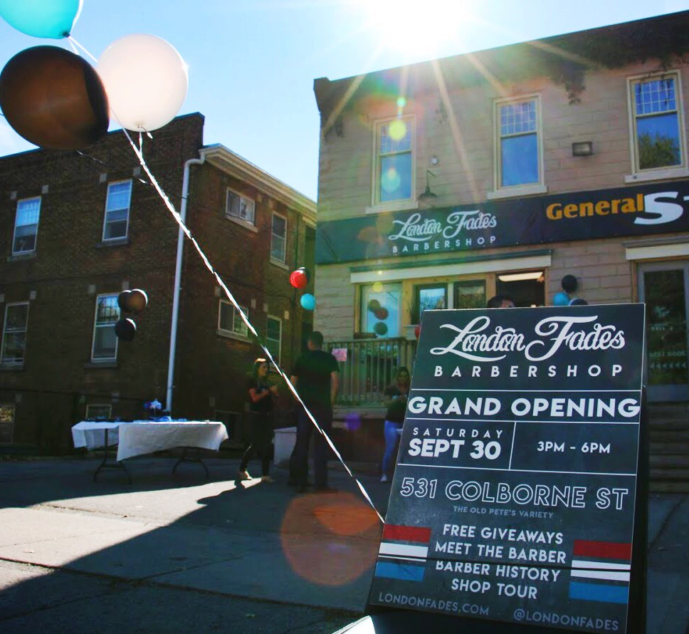 London Fades Barbershop | hair care | 531 Colborne St, London, ON N6B 2T7, Canada | 2264484642 OR +1 226-448-4642