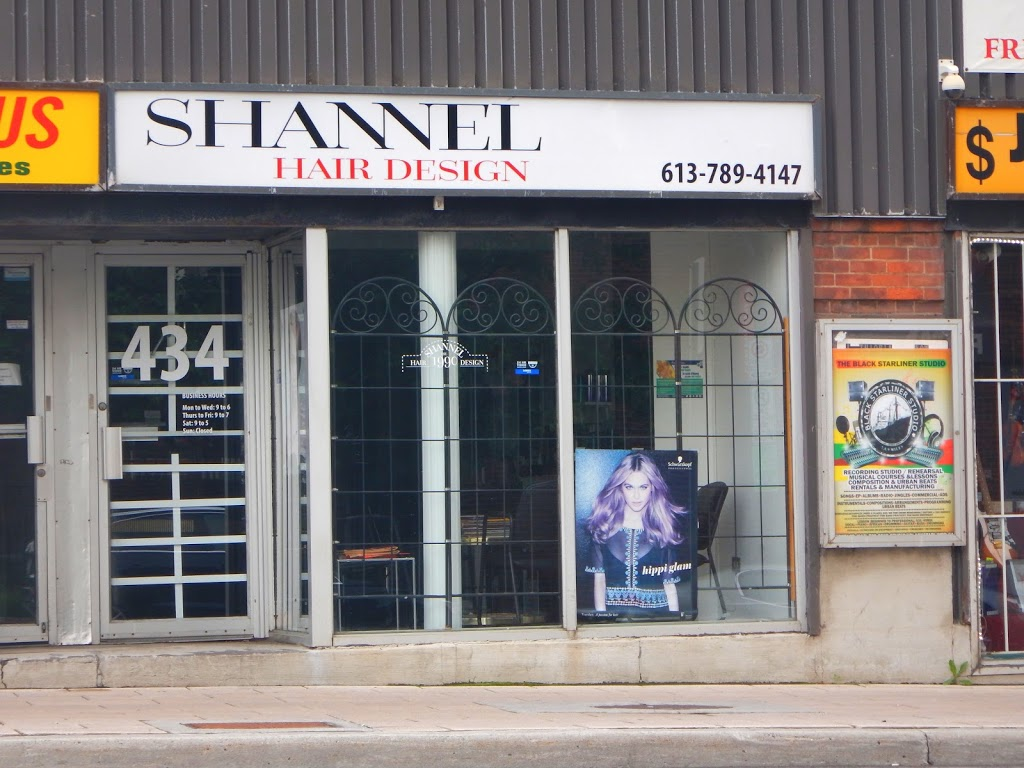 Shannel Hair Design | hair care | 434 Rideau St, Ottawa, ON K1N 5Z1, Canada | 6137894147 OR +1 613-789-4147